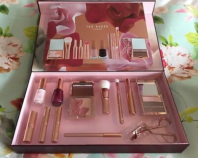 bb4ffe0e51c0f TED BAKER ~ Ted s Bouquet Cosmetic Collection Make Up Set New Gorgeous Gift