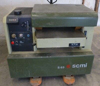 "SCMI S63B Wood Planer 24"" Made in Italy"