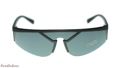 4263a677343fa VERSACE MEN S VE4349 VE 4349 52811U Transparent Dark Grey Sunglasses ...