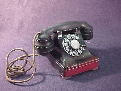 Western Electric 302 Telephone W/ Short Ears, Small Plungers + Vented Back