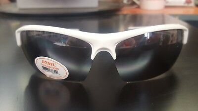 New 2018 Stihl Frosty Glasses Silver Mirror lenses #0390