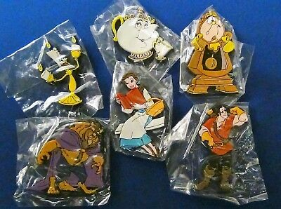 Vintage Disney's Beauty and the Beast Magnets