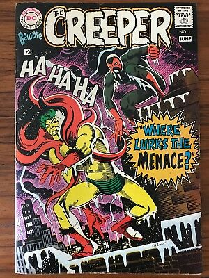 Beware the Creeper #1 (May-Jun 1968, DC)  Nice Midgrade Copy.  Steve Ditko!