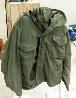 2 used military M65 field jackets
