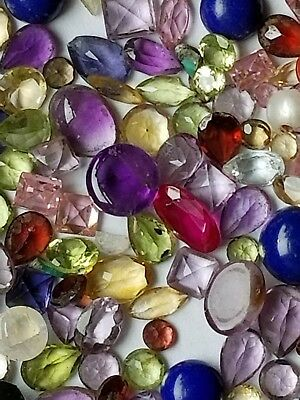 139.0 TCW Simulated Estate Gemstones Mixed Lot
