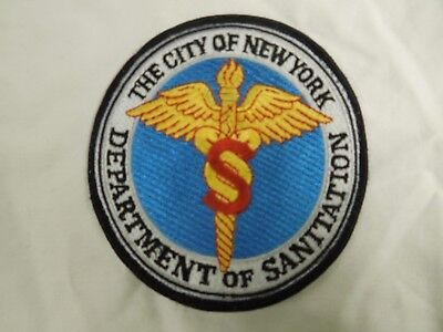 New York City Department of Sanitation Shoulder Patch Discontinued by DSNY