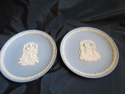 "Wedgwood ""Mother"" Plates 1999 & 2000"