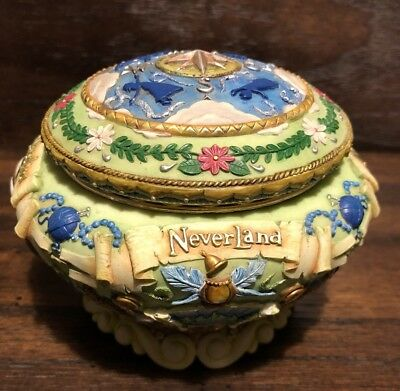 Disney Store Exclusive Classic and Rare Neverland Tinkerbell Peter Pan Music Box