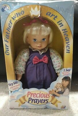 Precious Prayers Doll, Praying Doll, In Original Box, Works