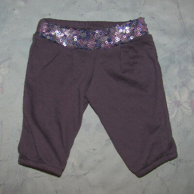American Girl Isabelle's Purple Scrunch Pants - Pants Only