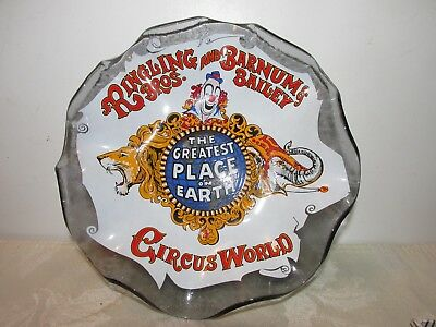 Ringling Bros. and Barnum & Bailey Circus World Souvenir Candy DIsh by Houze Art