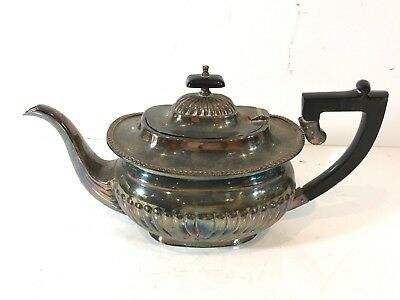 Antique Silver Plate Plated Teapot Tea Pot Collectable Yeoman Plate Vintage