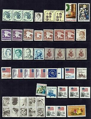 Us..... Mint Stamps ....booklet & Strips