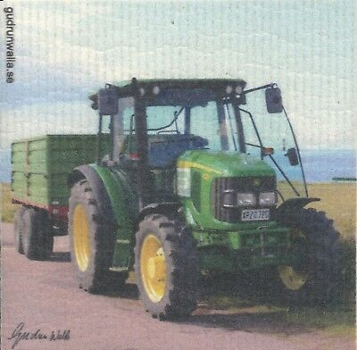 Dish Cloth Tractor – Gurdun Walla Design