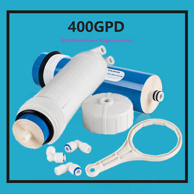 Ms® 400Gpd Reverse Osmosis Water Filter + 3012 Housing + Wrench + 3 Fittings Hot