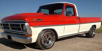 1972 Ford F-100 Ranger XLT 1972 F-100 NEWLY Completed Frame-off Resto-custom!  390-4V, Auto, Ram Air, & AC