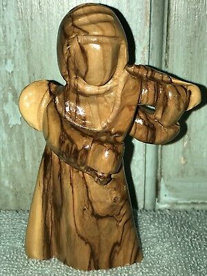 ANGEL- Hand Carved Faceless Playing Angel