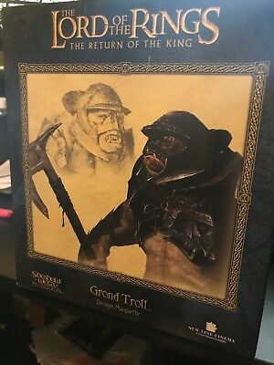 The Lord of The Rings The Return of The King Grond Troll Sideshow Weta 311/3000