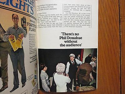1978 TV Guide(PHIL DONAHUE/BOB HOPE/BOZO THE CLOWN/ROBERT FOXWORTH/DAVID CASSIDY