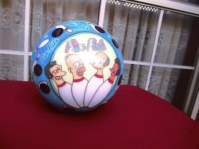 Collectable Undrilled The Simpsons Pin Pals Bowling Ball