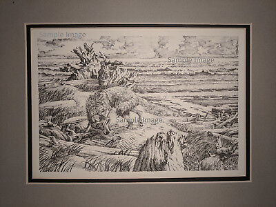 ART PEN AND Ink By Detta Cutting Zimmerman - $495 00 | PicClick