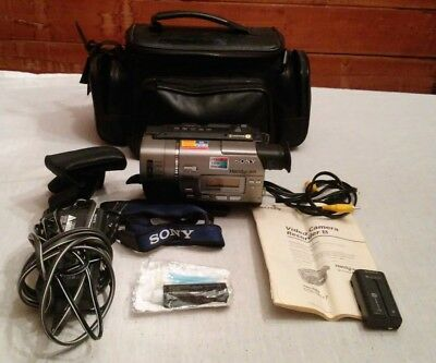 Sony Handycam CCD-TR517 8mm Video8 Camcorder Player Camera Video MANUAL