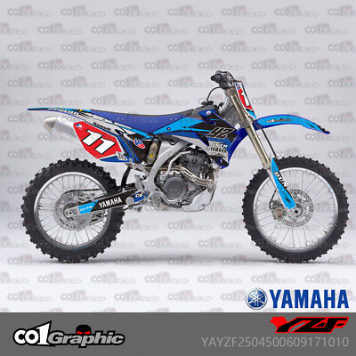 Graphics Decals Stickers Full Kit For Yamaha Yz250F Yz450F Yzf250/450 2006-2009