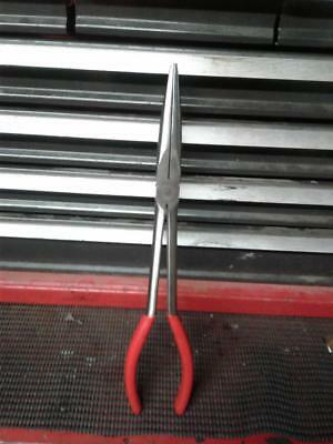 Snap-On - 11-Inch Needle Nose Pliers 911Cp Excellent Condition Vintage