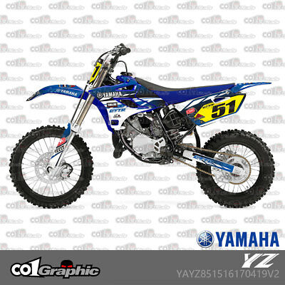 Graphics Decals Stickers Full Kit For Yamaha Yz 85 2015-2018