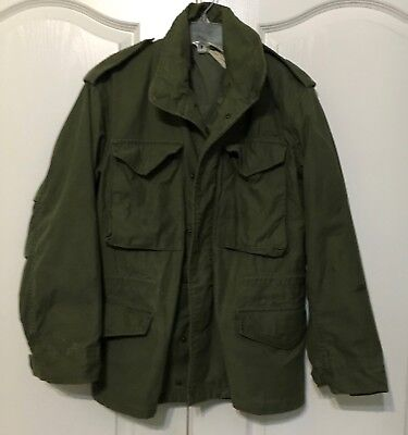 Vietnam Era US Military Man's Field Jacket Size Small Short