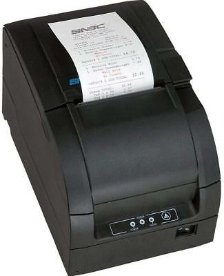 SNBC BTP-M300 Impact USB/Serial POS Receipt Printer Auto-Cut Black 132081