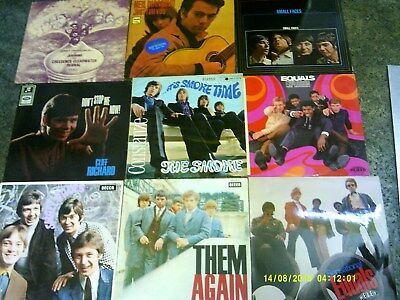 270 LP's The Smoke (Time), CCR, Jeronimo, Them, Small Faces, Stones,Beat, Soul,