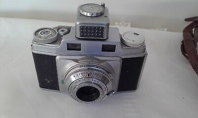 Vintage Agfa super silette -solinar 1:3.5/45 film camera Made in germany