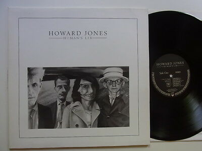 LP: Howard Jones: Human's Lib (Warner G.B.WX1 (240335-1))