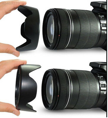E5E0 New 67mm EW-73B EW73B Lens Hood for Canon 6D 60D EF-S 18-135mm BF17-85mm