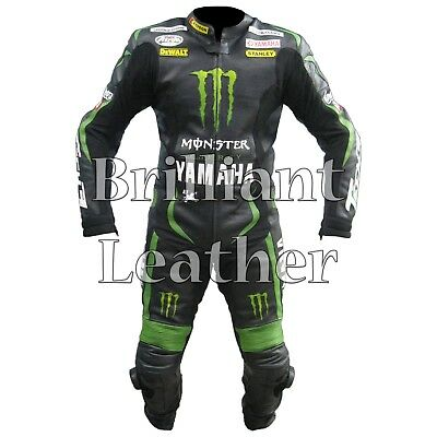 Yamaha Tech One Piece Motorbike Racing Leather Suit All Sizes