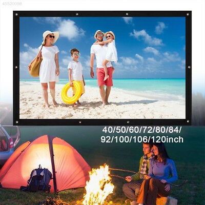 F55E Gaming Portable Folded Projection Screen EXO Business School Oudoor