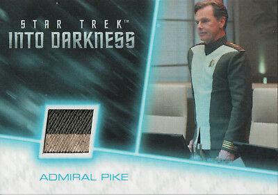 Star Trek Beyond Movie 2017, Admiral Pike Relic Card RC16