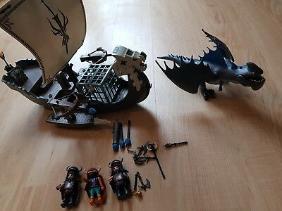 Playmobil Dragons Dragos Schiff + Donnerklaue