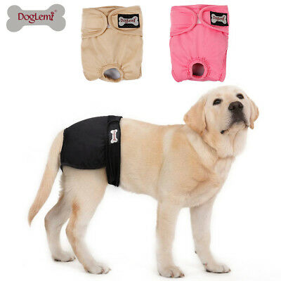 Female Dog Diapers Puppy Nappies Washable Reusable Underwear Breathable Pants