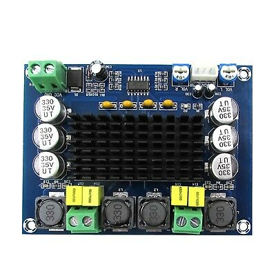12V-24V TPA3116D2 120W+120W Dual-Channel Stereo Digital Audio Amplifier AU