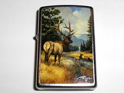 Zippo Linda Picken Collection Elk 2011 Lighter New