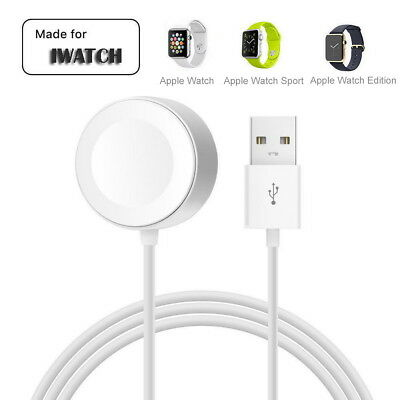 Magnetic Charger Charging Cable For Apple Watch iWatch Series 1/2/3/4 iWatch