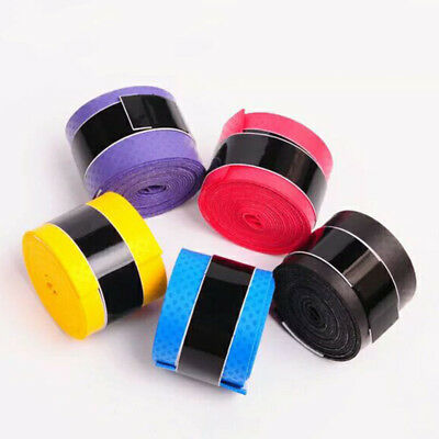5Pcs Anti-slip Racket Over Grips Bat Tennis Badminton Squash Tape Grips New hot