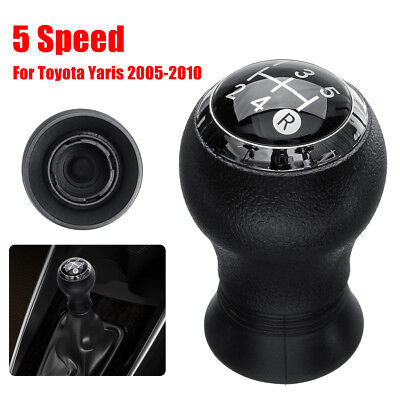 5 Marce Pomello Leva Del Cambio Per Toyota Yaris 2005-2010 Manual Transmission