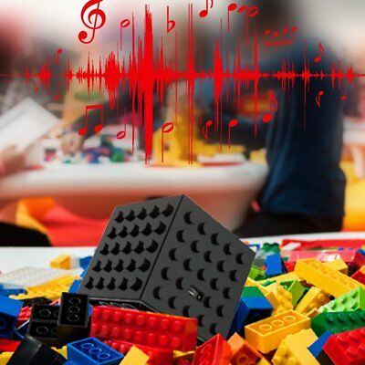 Portable Wirreless Bluetooth 4.0 3.7V 1000 mah Block Shaped Music Speaker KZ