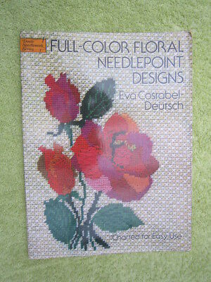 Full Colour Needlepoint Designs By Eva Costabel Deutsch. Charted For Easy Use.