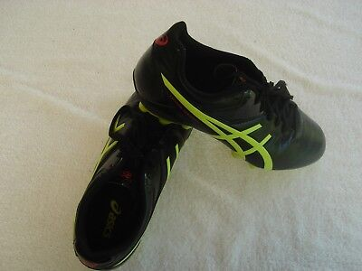 "Asics Lethal Speed RS ""As New"" Football Boots US9.5  Cm27.5  Eu43. Rugby  Soccer"