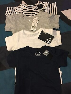 Bonds Boys Size 0 Tshirt Bundle
