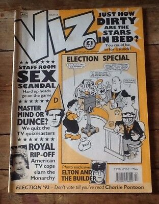 Genuine Vintage Viz Comic No 53